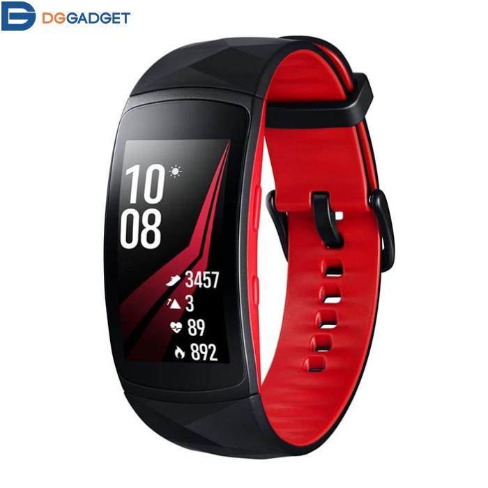 مچ بند هوشمند سامسونگ مدل Gear Fit 2 Pro Red   Samsung Gear Fit 2 Pro Red Smart Band
